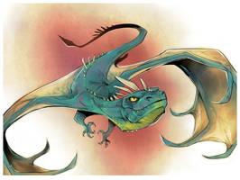 Dragon by Drkav