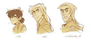 Age progression by Drkav