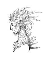 Dragon guy by Drkav