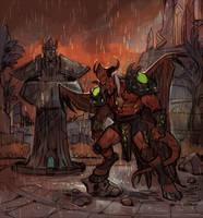 Promise of revenge by Drkav