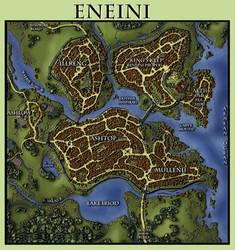 Eneini Map by pyrandon