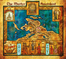 The Martyr Amobilant map by pyrandon