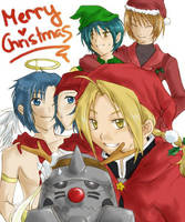 Merry Christmas-FMA,DM, PoT by Luriel