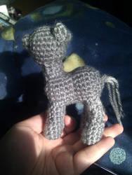 Derpy Hooves Crochet: wingless by terriko