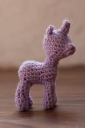Crochet pony for LadyRosePixie (2) by terriko