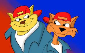 Swat Kats -  Brotherly Bond by Kai-Kat