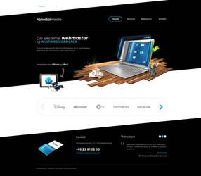 Hannibal Media Website by carl913
