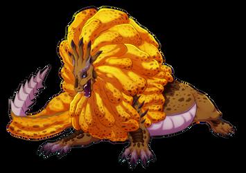 Monster Hunter- Royal Ludroth by blueharuka