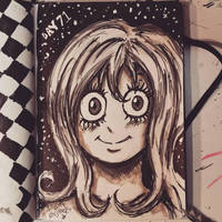 Sketchbook Day 71 - Eyes by N1NJAKEES