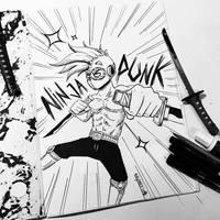 NINJAPUNK! by N1NJAKEES