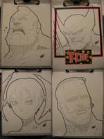 And more sketches by E-V-IL