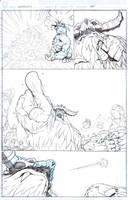 Darkstalkers 2 page 14 by E-V-IL