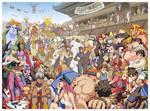 Art of Capcom 2 Pinup by E-V-IL