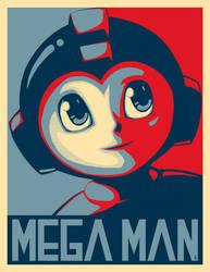Mega Man Tribute Submission by E-V-IL