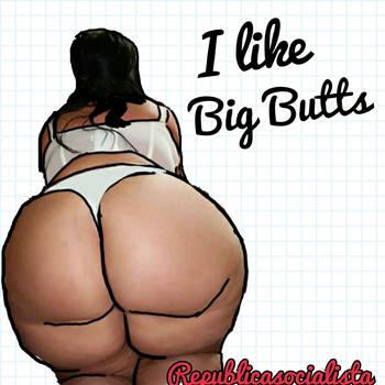 Big butt lady by republicasocialista