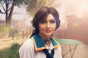 Elizabeth - Bioshock Infinite Cosplay by ReneeRouge