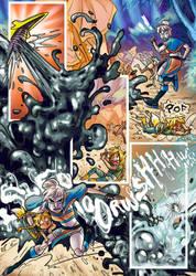 L'ange, le Loup et La Foret -page 38 by MayVig