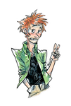 Urgent commission for Hane-no-hi by MayVig