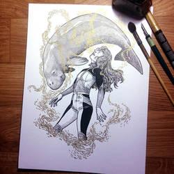 InkTober Day 3 -Poison- by MayVig