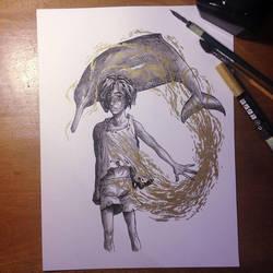 InkTober Day 18 -Filthy- by MayVig