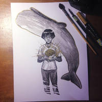 InkTober Day 20 -Deep- by MayVig