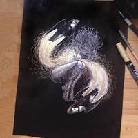 InkTober Day 29 -United- by MayVig
