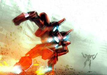 Battle Rage by VincentiusMatthew