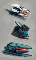 Mech Heads Creations by VincentiusMatthew