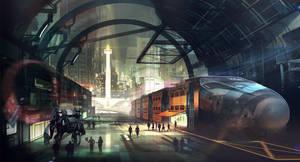 Central Jakarta by VincentiusMatthew