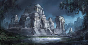 Forgotten Temple by VincentiusMatthew
