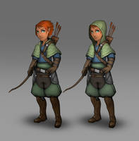 Commission: Pilgrims of Rao - Hunter Class by VincentiusMatthew