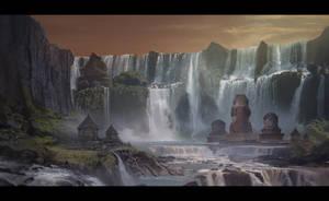 Majapahit Temples by VincentiusMatthew
