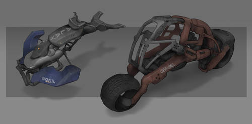 Neo Kampung Vehicles Concept by VincentiusMatthew