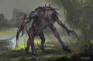 Commission: Revenant Rex by VincentiusMatthew