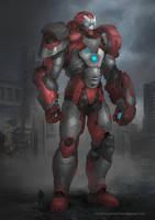 Ironman Kaiju-Avenger by VincentiusMatthew