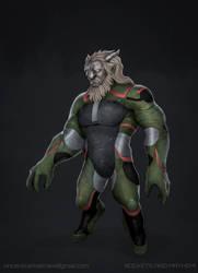 Commission: Kravyad Alien Concept by VincentiusMatthew