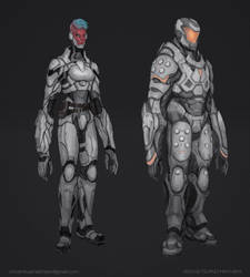 Commission: Armored Janya Concept by VincentiusMatthew