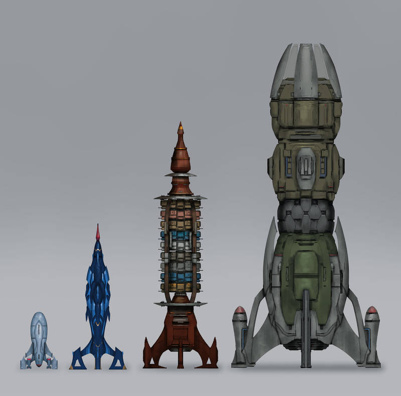 Commission: Low-Technik Rockets by VincentiusMatthew