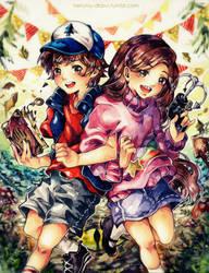 Mystery Twins ! by heri-umu