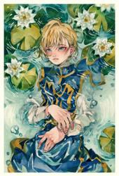 Happy birthday, Kurapika. by heri-umu