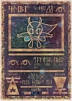 Ancient Celebi Card by icycatelf