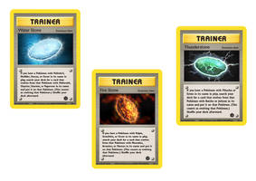 Evolution Stone Cards 1 by icycatelf