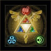 The Triforce V2 by icycatelf