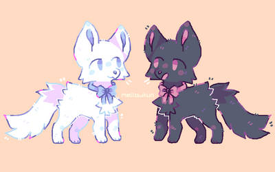 furry frens by MellowKun