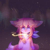 + candle light + by MellowKun