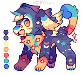 + starry mufflow adopt + by MellowKun