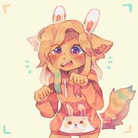 + im a bunny + by MellowKun
