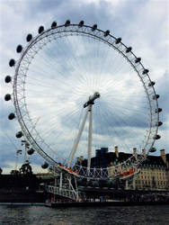 London Eye by TangentExpress