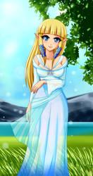 Goddess Zelda by SigurdHosenfeld