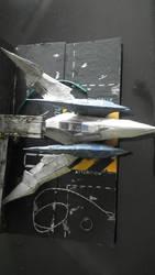 Arwing Display StarFox 20th Anniversary Contest by RennardFuchs